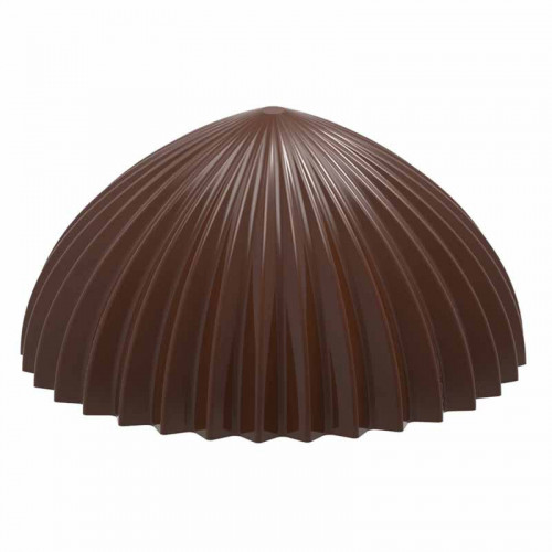 Chocolate World Pralinform Halvklot veckad