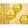 Folieballong 80th Birthday - PartyDeco
