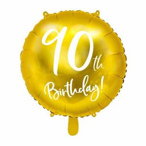 Folieballong 90th Birthday - PartyDeco