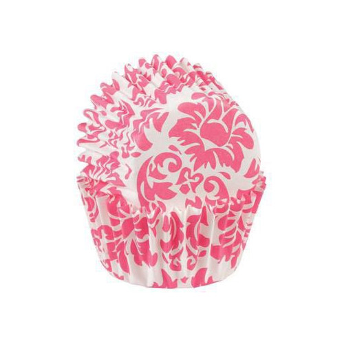 Minimuffinsform Damask Rosa - Wilton