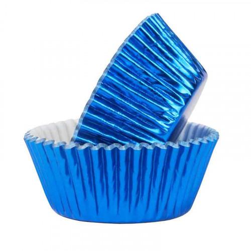 Muffinsform Metallic Blå - PME
