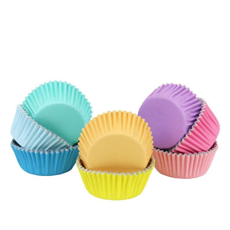 Muffinsform Pastell 100 st - PME
