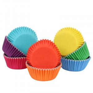 Muffinsform Regnbåge 100 st - PME