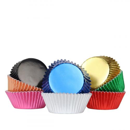 Muffinsform Metallic 100 st - PME