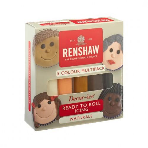 Renshaw Sockerpasta Naturals, Multipack