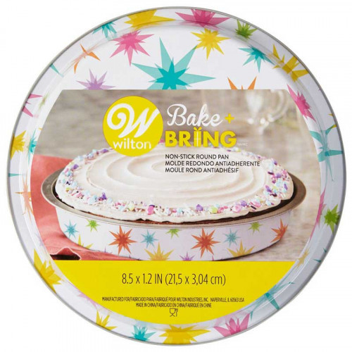 Bakform Ø20 cm Starburst - Wilton Bake + Bring
