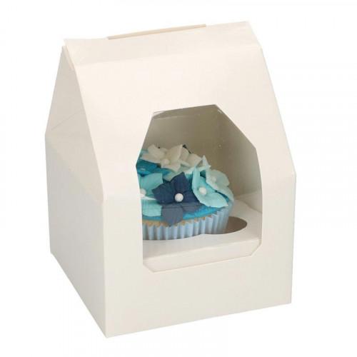 Små cupcake boxar för 1 cupcake, 5-pack