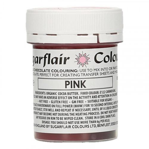 Chokladfärg Rosa - Sugarflair