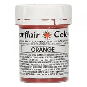 Chokladfärg Orange - Sugarflair