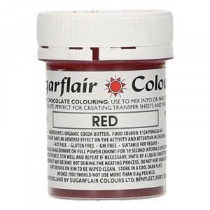 Chokladfärg Röd - Sugarflair