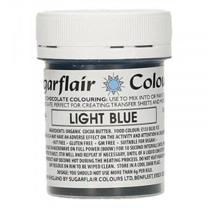 Chokladfärg Ljusblå - Sugarflair
