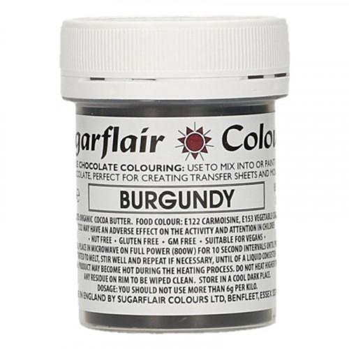 Chokladfärg Burgundy - Sugarflair