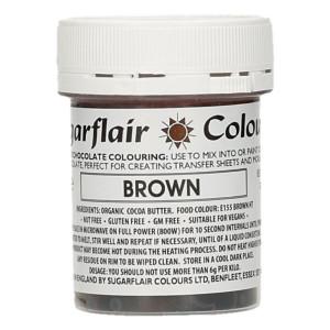 Chokladfärg Brun - Sugarflair