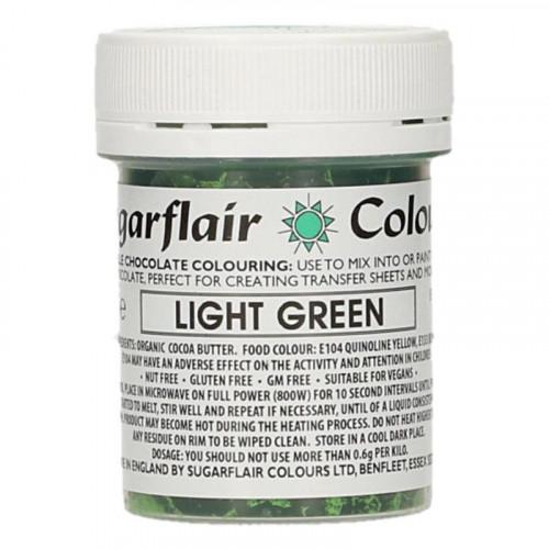 Chokladfärg Ljusgrön - Sugarflair