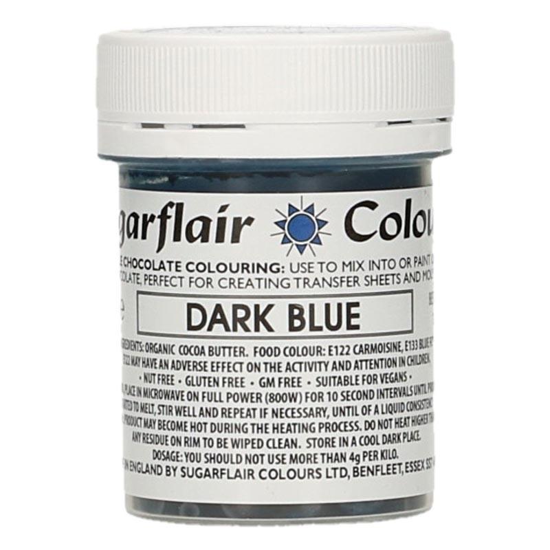 Chokladfärg Mörkblå - Sugarflair