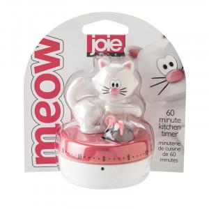 Äggklocka katt rosa - Jo!e Mekanisk