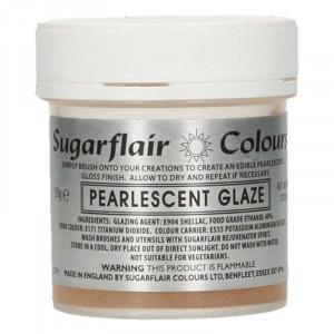 Pärlemorskimrande glaze - Sugarflair