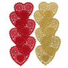 Tårtpapper Hjärtan 10 cm - Wilton