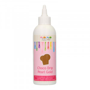 Choco Drip Pearl Gold - FunCakes