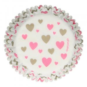 Muffinsform Hjärtan - FunCakes
