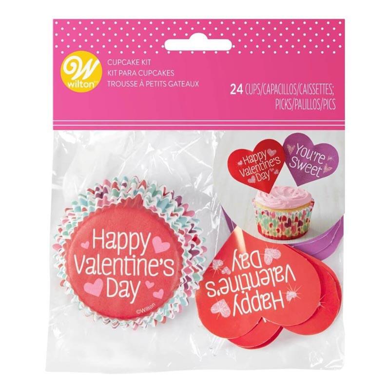 Cupcake Kit Valentine - Wilton