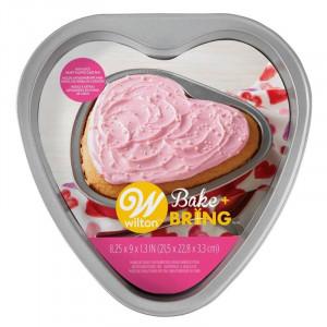 Bakform Hjärta - Wilton Bake + Bring