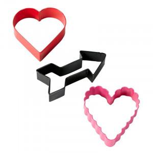 Utstickare Två Hjärtan och Pil - Wilton