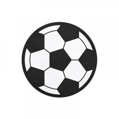 Servetter Fotboll - PartyDeco