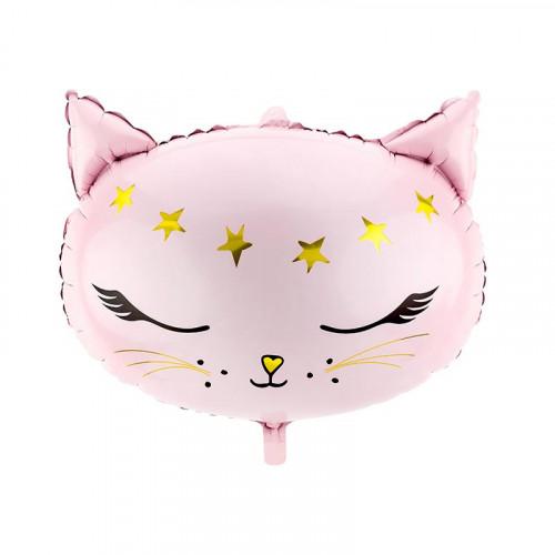 Folieballong Katt - PartyDeco