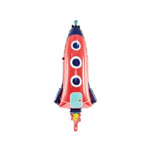 Folieballong Raket - PartyDeco