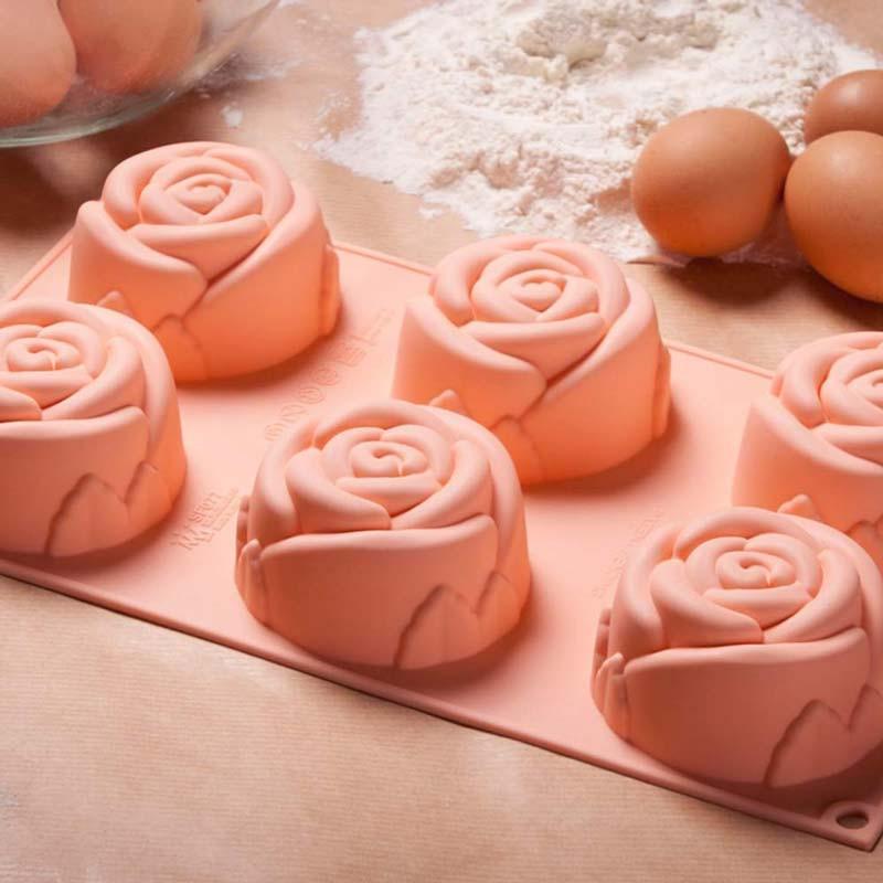 Silikonform rosor - Silikomart