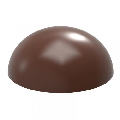 Pralinform Kupol Ø10 cm - Chocolate World