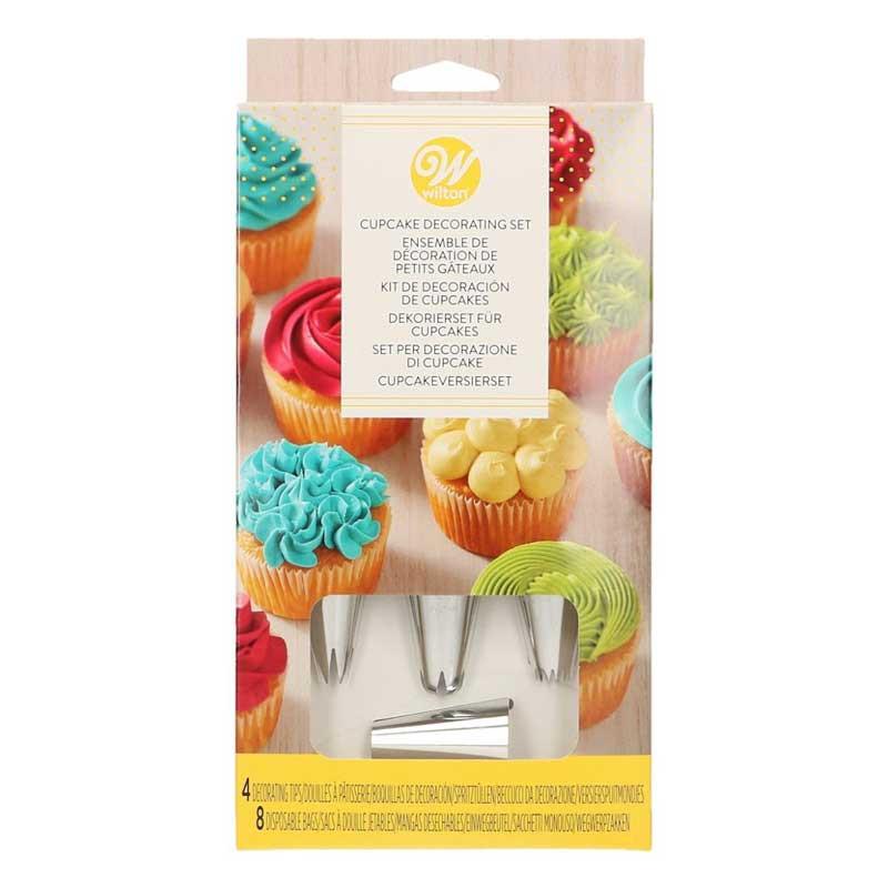 Wilton Dekorationsset Cupcakes, 12 delar