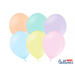 Ballonger Pastellmix 10-pack - PartyDeco