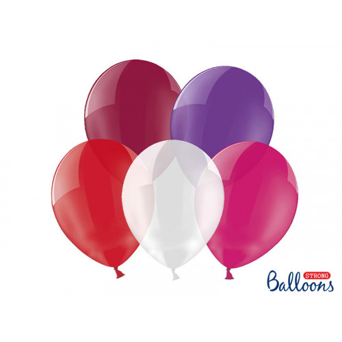 Ballonger Crystal Mix 100-pack - PartyDeco