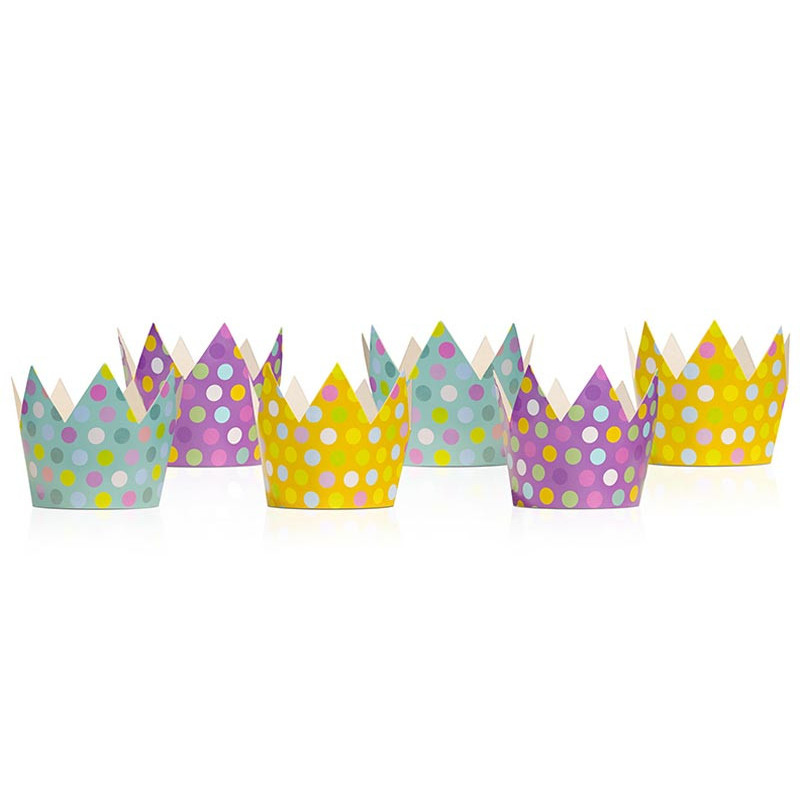 Partykrona Guld 5,5cm - PartyDeco