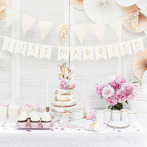 PartyDeco Girlang, Just Married