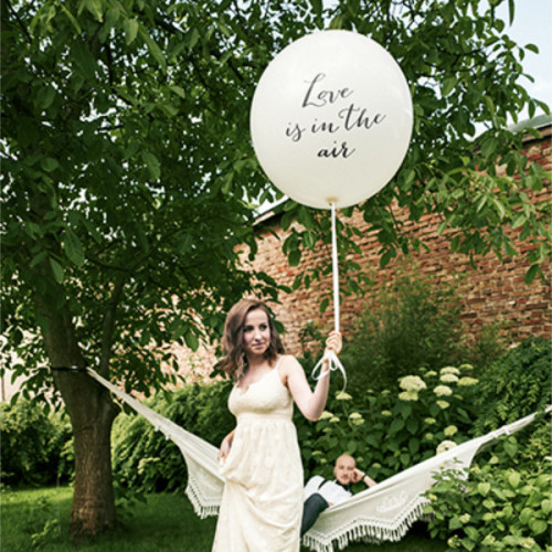 PartyDeco Stor Ballong, Love is in the air