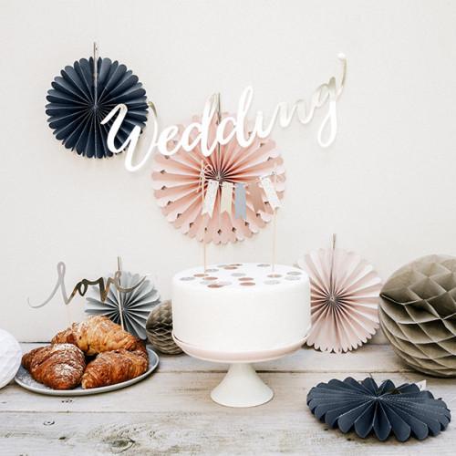PartyDeco Pappersfjäder, Elegant bliss