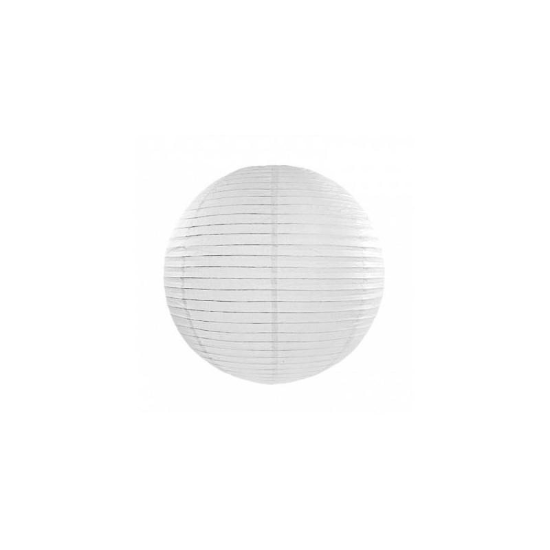 Lanterna, Vit 20cm - PartyDeco