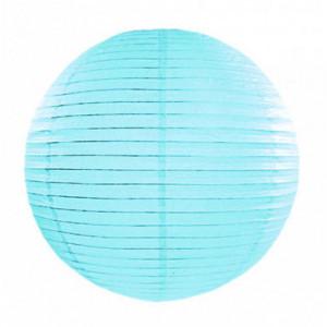 Lanterna himmelsblå Ø20 cm - PartyDeco