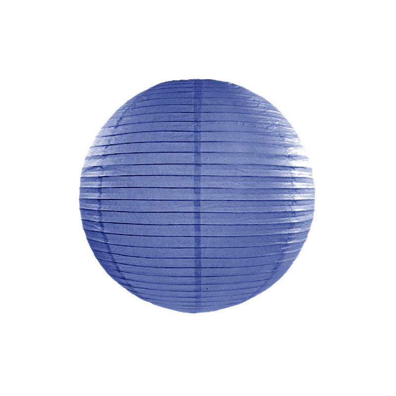 Lanterna, Kungsblå 20cm - PartyDeco