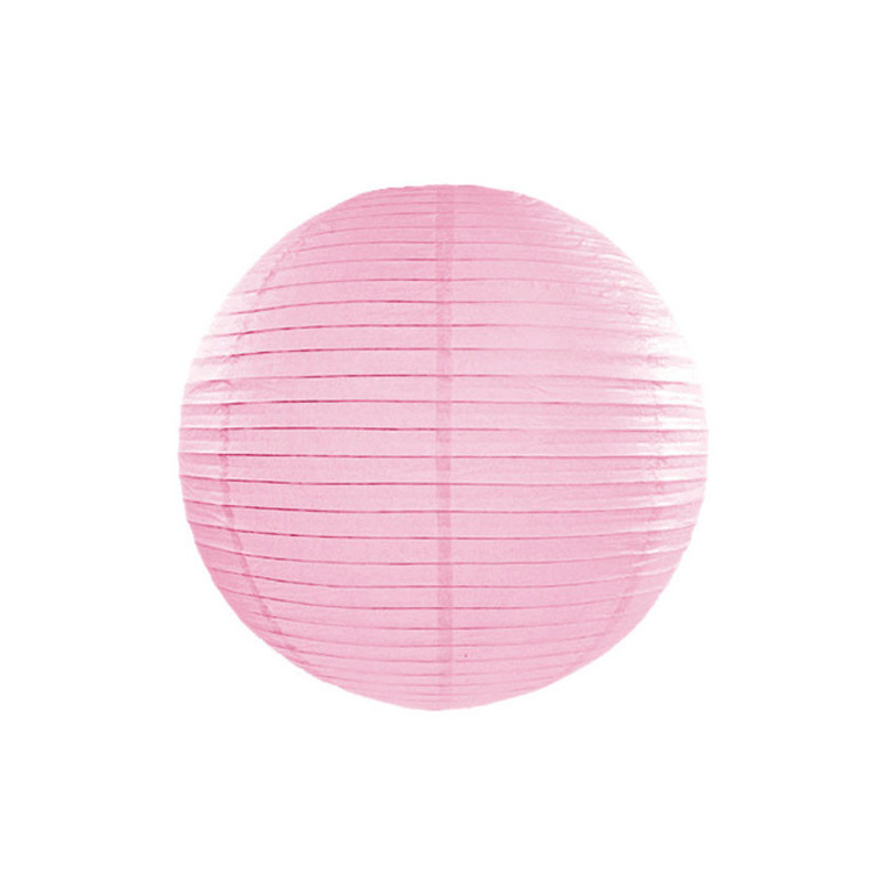 Lanterna, Rosa 20cm - PartyDeco