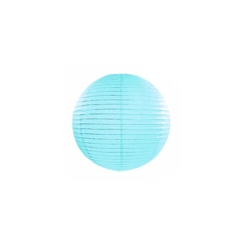 Lanterna, Himmelsblå 25cm - PartyDeco