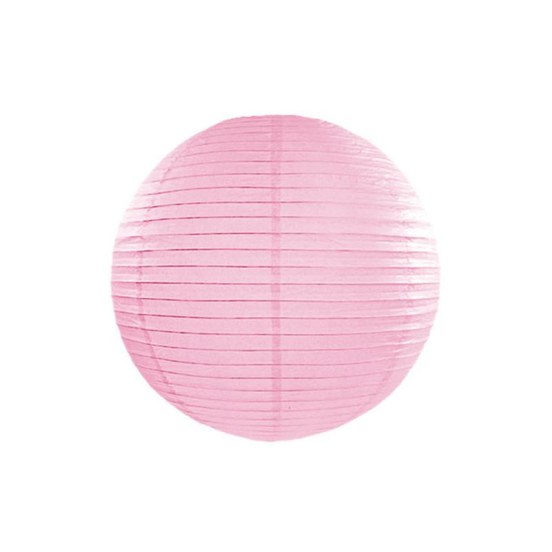 Lanterna, Rosa 25cm - PartyDeco