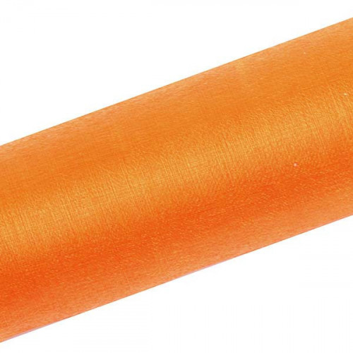 Organza, Orange 0.16x9 m - PartyDeco