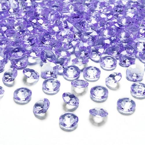 Diamantkonfetti Lila - PartyDeco