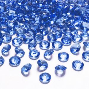 Diamantkonfetti Marinblå - PartyDeco