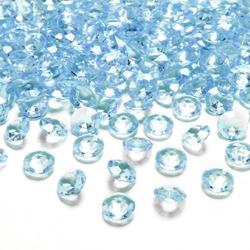 Diamantkonfetti Turkos - PartyDeco