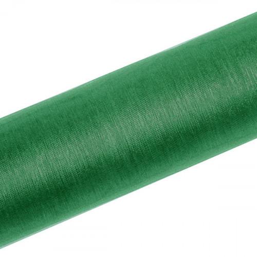 Organza, Smaragdgrön 0.16x9 m - PartyDeco